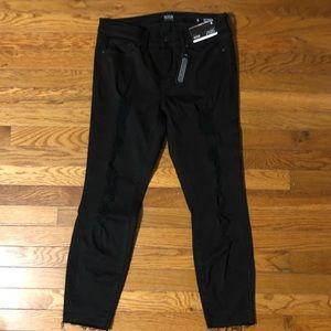 a.n.a Jeans - HP 🎉  a.n.a shredded Black Skinny Jeggings. NWT!
